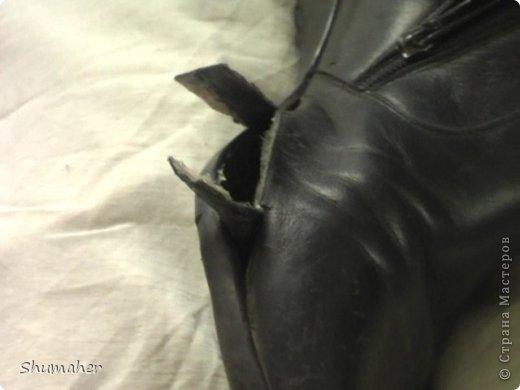 Внутренняя заплатка (ремонт обуви, видео), Страна Мастеров