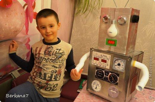 Как сделать робота дома для ребенка