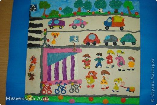 Это работы детей подготовительной к школе группы. Первая работа заняла первое место в городском конкурсе и поехала на областной. фото 5