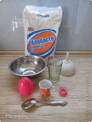 Мастер-класс Пасха Моделирование конструирование Гипсовые заготовки для пасхальных яиц Гипс фото 2