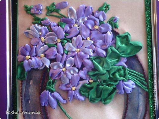 Вышивала для приятельницы. Уж очень нам обоим захотелось по-эксперементировать с оттенками сиренево-фиолетового.... фото 2