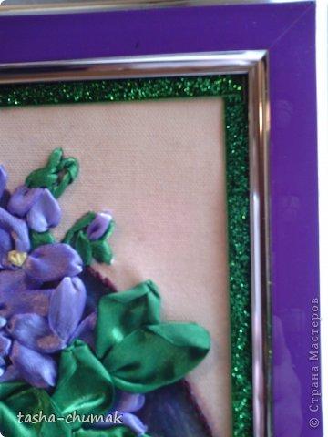 Вышивала для приятельницы. Уж очень нам обоим захотелось по-эксперементировать с оттенками сиренево-фиолетового.... фото 3