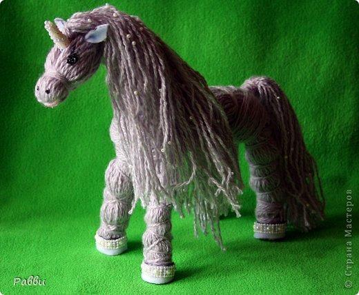 Лошадь из шпагата своими руками мастер класс 70