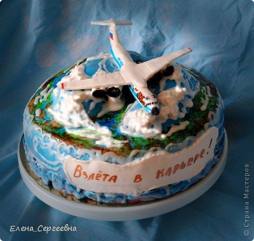 Кулинария день рождения торт самолет