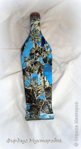 Декор предметов Мастер-класс Декупаж Каменные баночки Имитация Банки стеклянные Бумага журнальная фото 9