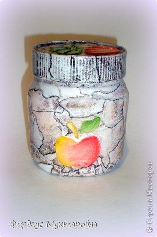 Декор предметов Мастер-класс Декупаж Каменные баночки Имитация Банки стеклянные Бумага журнальная фото 24