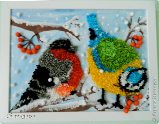 Поделки зимующих птиц своими руками