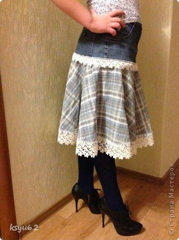 Шьем Детская юбка в стиле бохо - шитье.