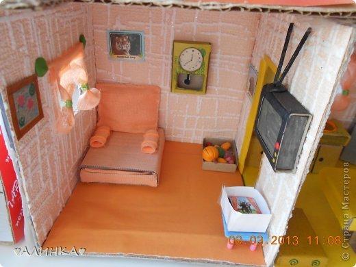 Как сделать мебель для кукол из коробки своими руками видео