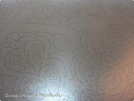 Декор предметов Роспись Тарелка Сердце Востока  МК для начинающих Краска Стекло фото 3