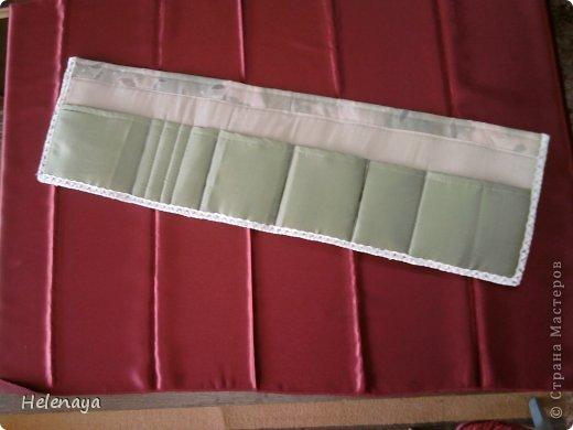 Поделка изделие Шитьё Оргнайзер в сумку Нитки Ткань фото 1