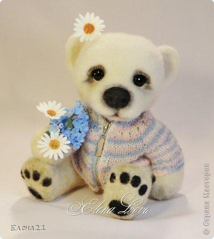 Сшила новое платье - комбинезончик для мишки Анюты  и шляпку !!))                                     фото 7