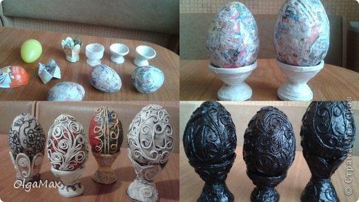 Папье-маше из ячеек из под яиц своими руками