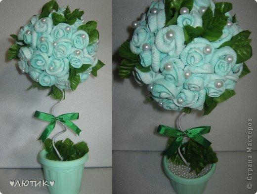 из искуственных тюльпанов и фатина фото 2