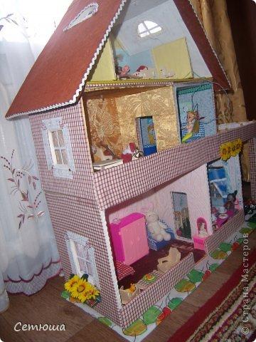 Как сделать кукольный домик из бумаги своими руками без картона