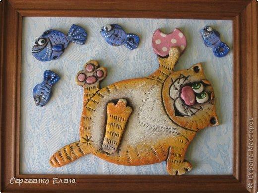 Поделки из соленого теста своими руками пошаговая инструкция кот
