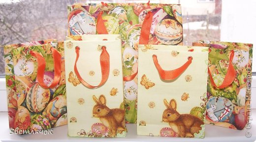 пакеты сделанные из бумаги формата А4, пищевой пленки и трехслойной салфетки фото 2