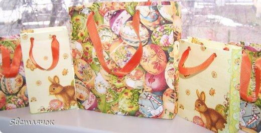 пакеты сделанные из бумаги формата А4, пищевой пленки и трехслойной салфетки фото 1