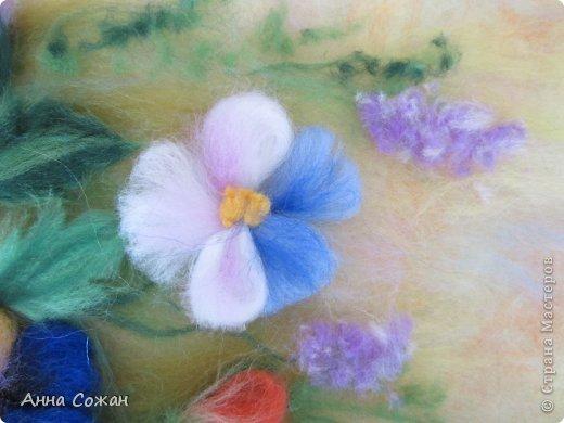 Здравствуйте друзья! Приглашаю посмотреть новую картину Анютины глазки. Картину сделала на День Рождения своей сестре. Она очень любит эти цветы. Размер картины20х30 фото 4