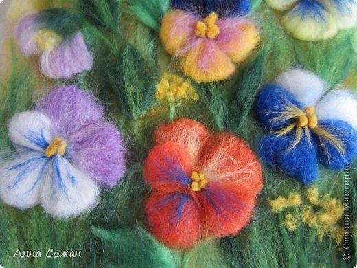Здравствуйте друзья! Приглашаю посмотреть новую картину Анютины глазки. Картину сделала на День Рождения своей сестре. Она очень любит эти цветы. Размер картины20х30 фото 5