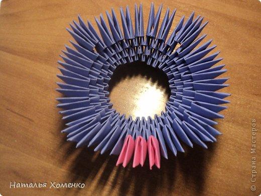 Мастер-класс Поделка изделие Оригами китайское модульное ЛУНТИК Бумага фото 10