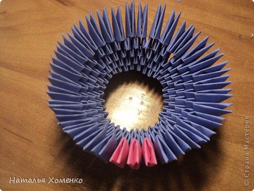 Мастер-класс Поделка изделие Оригами китайское модульное ЛУНТИК Бумага фото 11