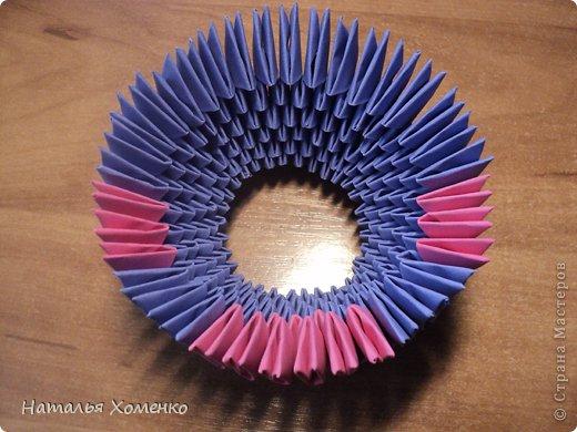 Мастер-класс Поделка изделие Оригами китайское модульное ЛУНТИК Бумага фото 12