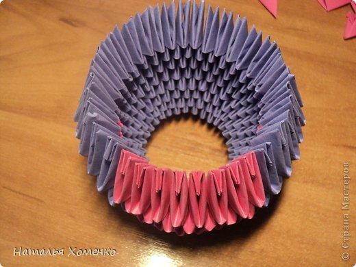 Мастер-класс Поделка изделие Оригами китайское модульное ЛУНТИК Бумага фото 14