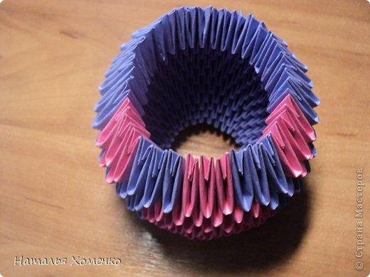 Мастер-класс Поделка изделие Оригами китайское модульное ЛУНТИК Бумага фото 17