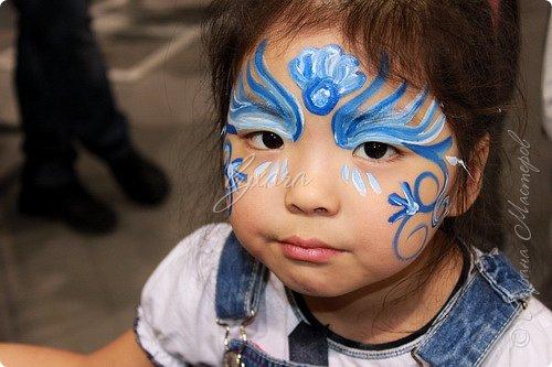 Рисовала специальными красками (аквагримом) на водной основе на личиках ребят (на одном городском мероприятии). фото 9