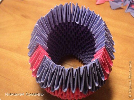 Мастер-класс Поделка изделие Оригами китайское модульное ЛУНТИК Бумага фото 18