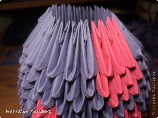 Мастер-класс Поделка изделие Оригами китайское модульное ЛУНТИК Бумага фото 21