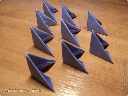 Мастер-класс Поделка изделие Оригами китайское модульное ЛУНТИК Бумага фото 2