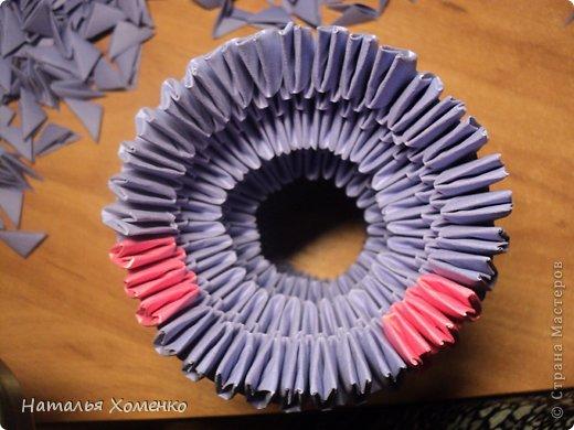 Мастер-класс Поделка изделие Оригами китайское модульное ЛУНТИК Бумага фото 30