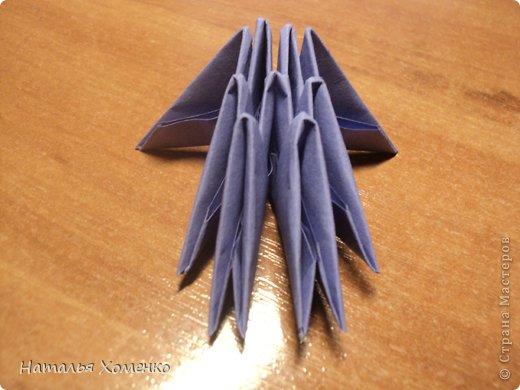 Мастер-класс Поделка изделие Оригами китайское модульное ЛУНТИК Бумага фото 3