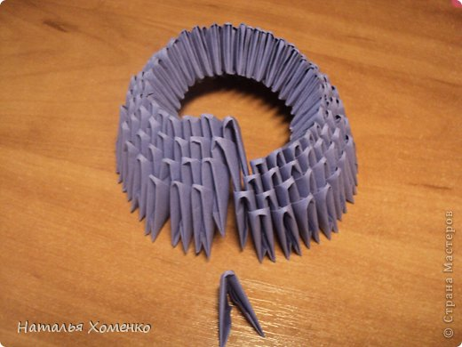 Мастер-класс Поделка изделие Оригами китайское модульное ЛУНТИК Бумага фото 4