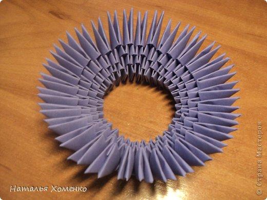 Мастер-класс Поделка изделие Оригами китайское модульное ЛУНТИК Бумага фото 6