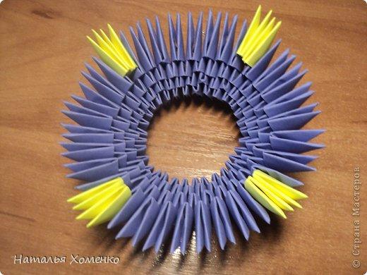 Мастер-класс Поделка изделие Оригами китайское модульное ЛУНТИК Бумага фото 7