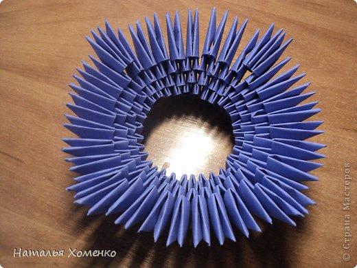 Мастер-класс Поделка изделие Оригами китайское модульное ЛУНТИК Бумага фото 9