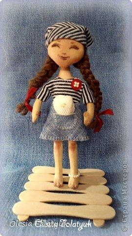 Куклы Мастер-класс День защиты детей Шитьё Девочка с ракушкой Ткань фото 1