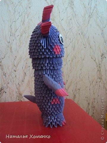 Мастер-класс Поделка изделие Оригами китайское модульное ЛУНТИК Бумага фото 62