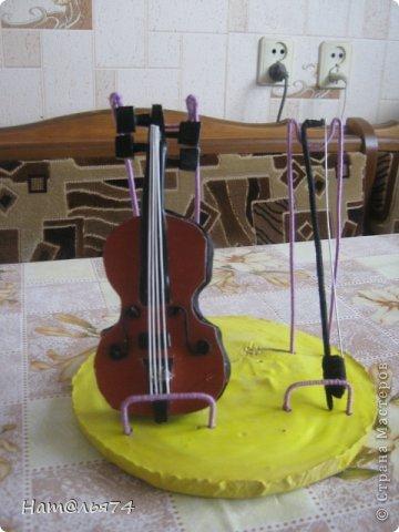 Скрипка в поделках