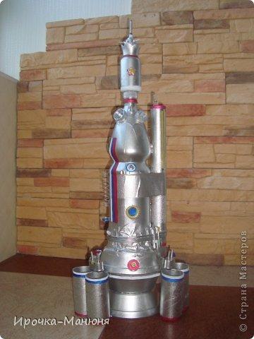Ракета из бутылки для