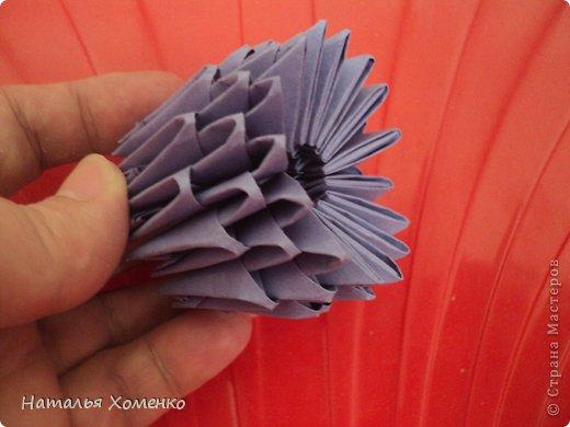 Мастер-класс Поделка изделие Оригами китайское модульное ЛУНТИК Бумага фото 44