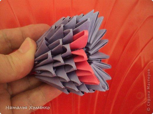 Мастер-класс Поделка изделие Оригами китайское модульное ЛУНТИК Бумага фото 45