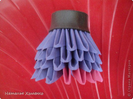 Мастер-класс Поделка изделие Оригами китайское модульное ЛУНТИК Бумага фото 46