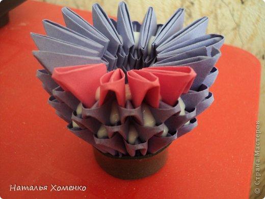 Мастер-класс Поделка изделие Оригами китайское модульное ЛУНТИК Бумага фото 47