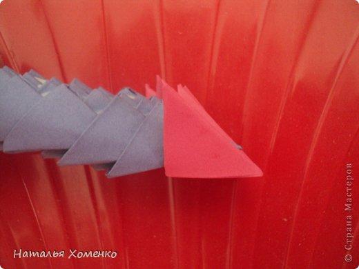 Мастер-класс Поделка изделие Оригами китайское модульное ЛУНТИК Бумага фото 50