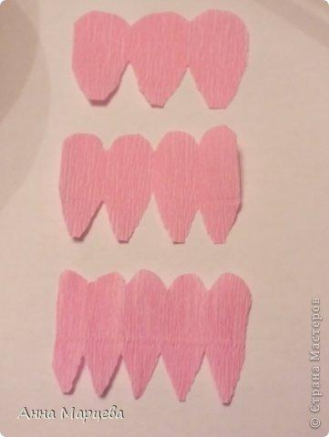 Мастер-класс Свит-дизайн Бумагопластика Обещанный МК но только по розе пока Бумага гофрированная Клей фото 5