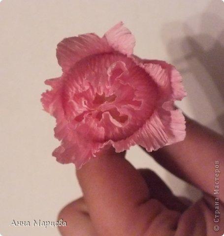 Мастер-класс Свит-дизайн Бумагопластика Обещанный МК но только по розе пока Бумага гофрированная Клей фото 16
